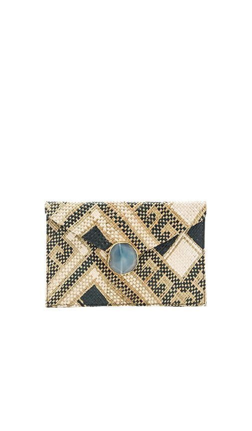 KAYU Saguaro Clutch in Tan