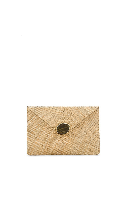 KAYU Capri Clutch in Beige