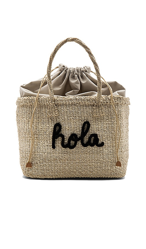KAYU x REVOLVE Hola Tote Bag in Black