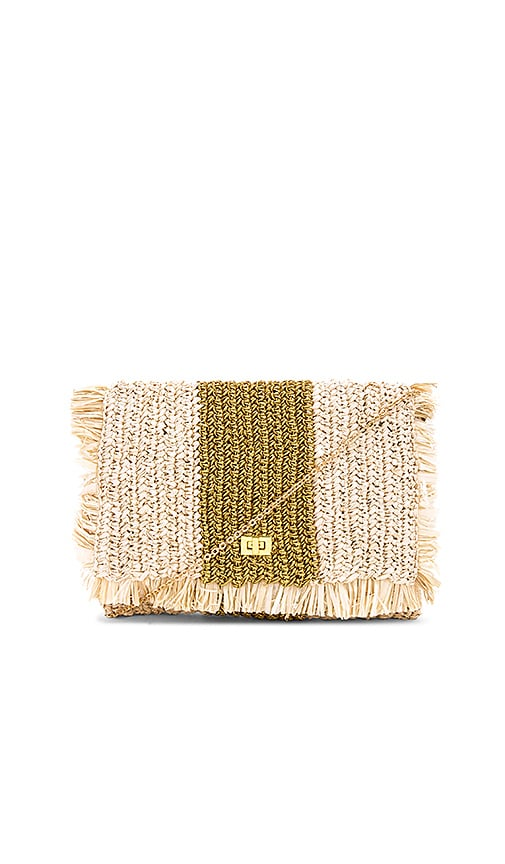KAYU Shelby Clutch in Beige