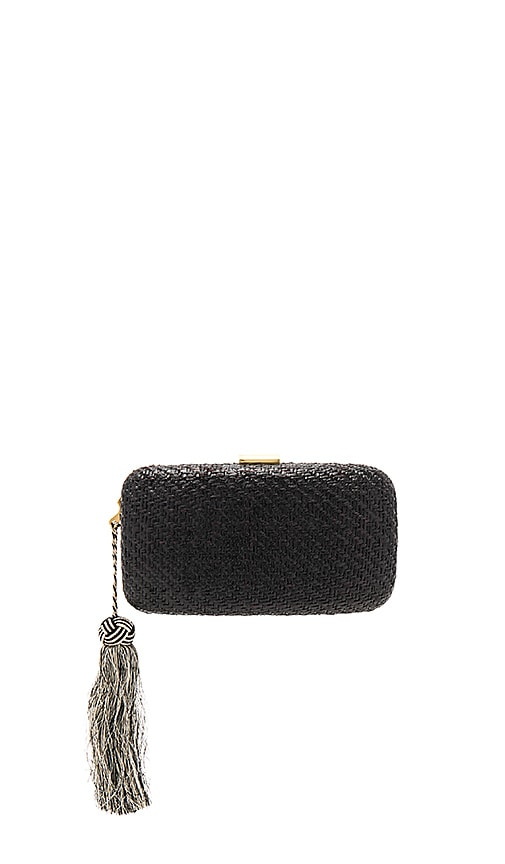 KAYU Charlotte Clutch in Black