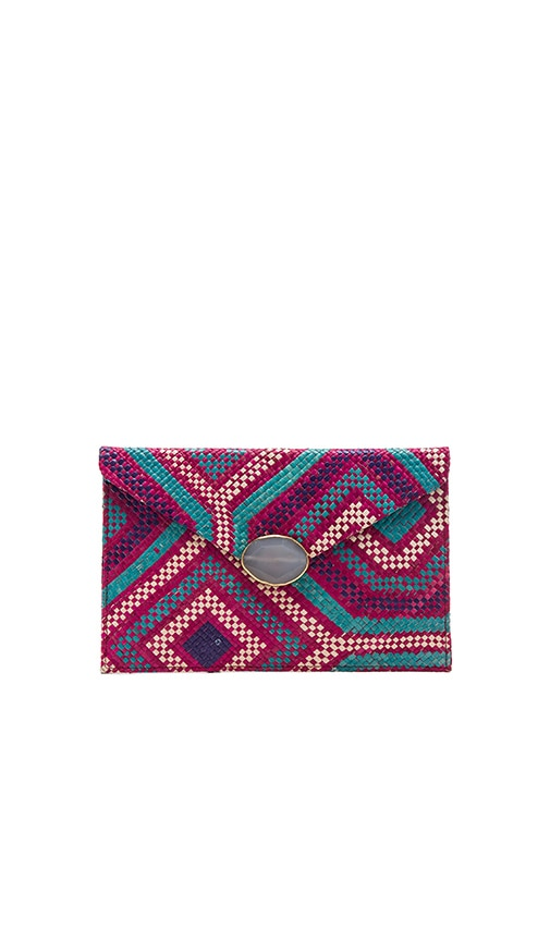 KAYU Saguaro Clutch in Pink