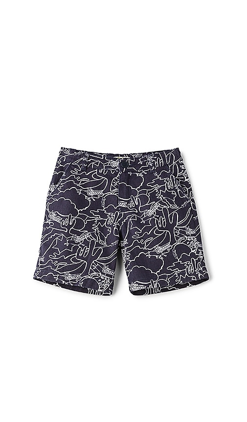 KENZO Kids Short in Blue