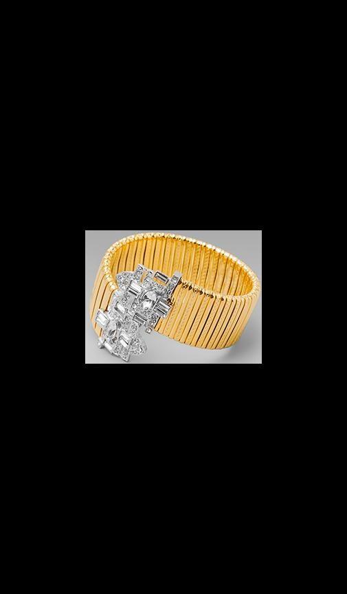 Art Deco Coil Bracelet