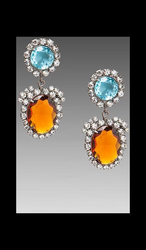 Art Deco Drop Earring