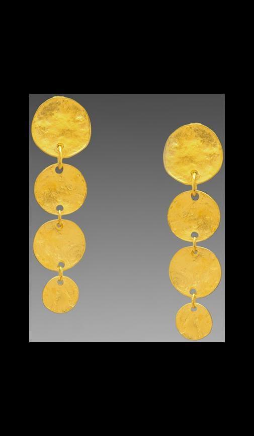 4 Coin Clip Earring