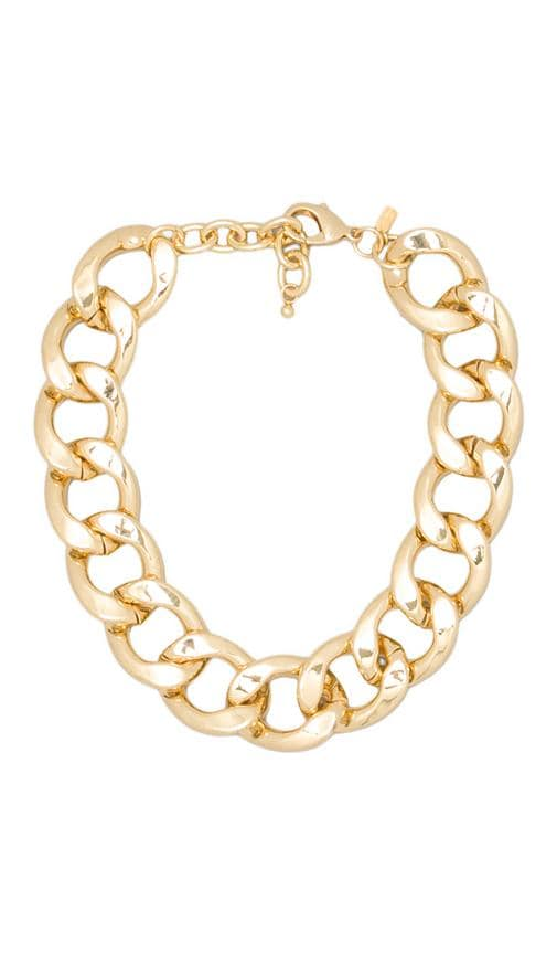 Large Flat Link Lobster Claw Clasp Necklace