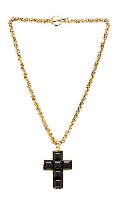 Thick Chain Cross Necklace