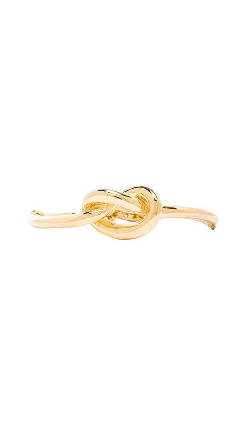 Knot Front Toggle Bracelet