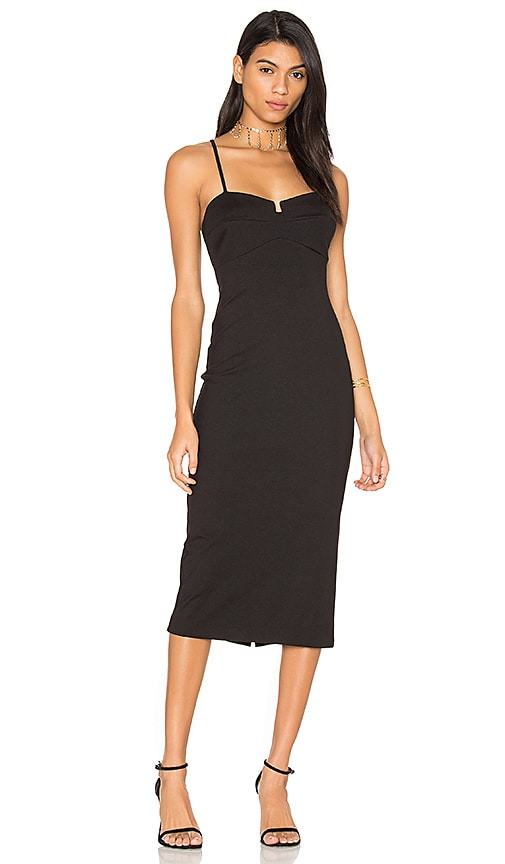 032f57a9721d54 KENDALL + KYLIE Bralette Dress in Black