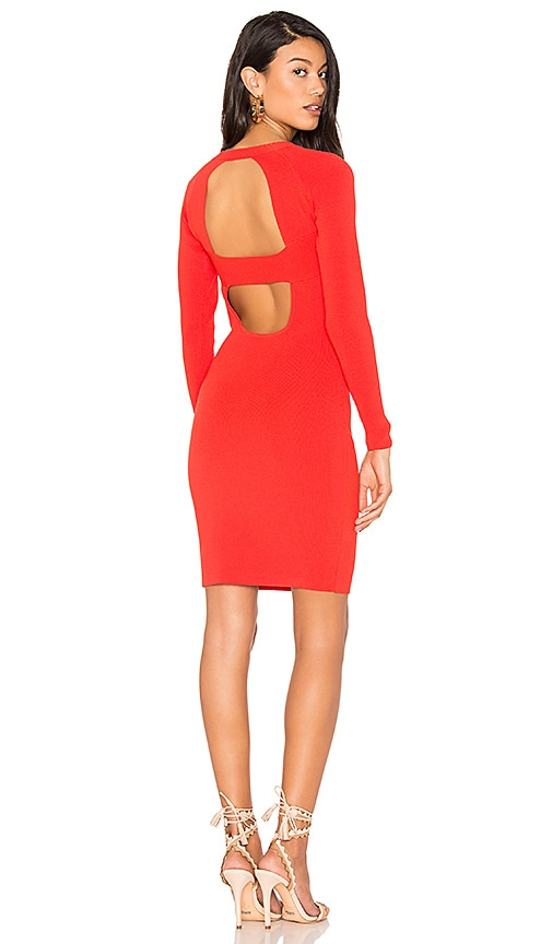 KENDALL + KYLIE Banded Dress in Red