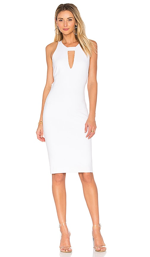 KENDALL + KYLIE Cut Out Dress in White