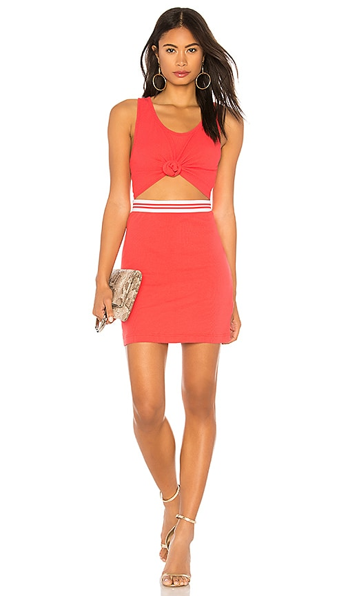 KENDALL + KYLIE Cut Out Dress in Red