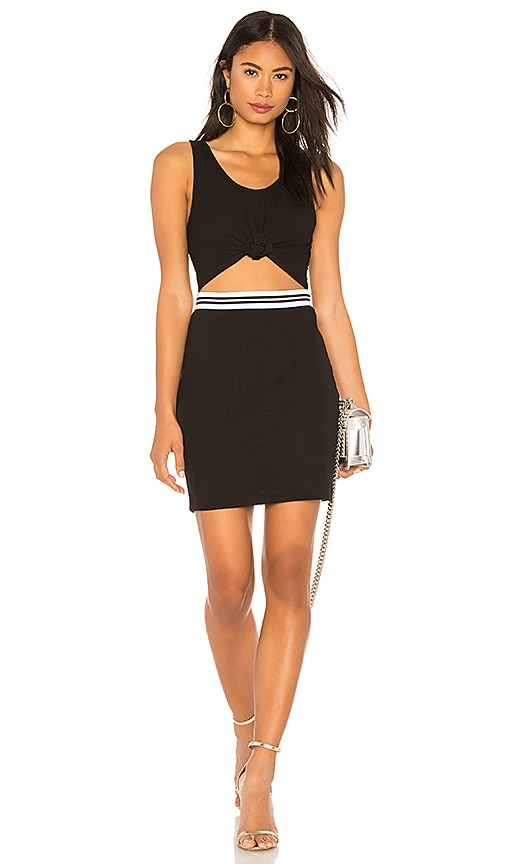 KENDALL + KYLIE Cut Out Dress in Black