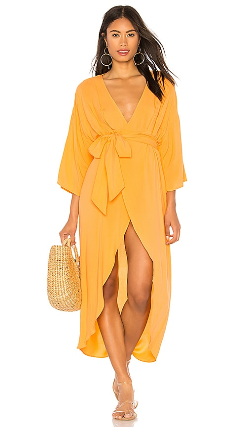 Quill Kimono Maxi Dress in Yellow. - size XS/S (also in S/M) Indah rC9gLn