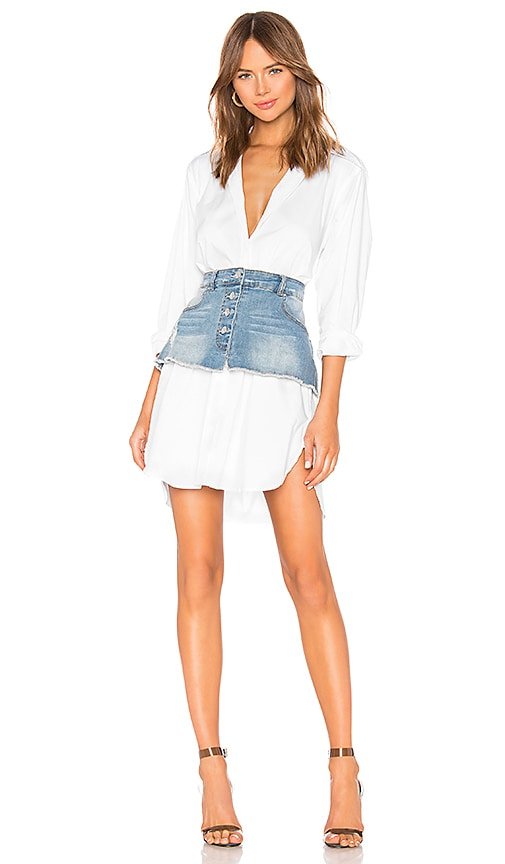 Oversized Poplin Shirt Dress