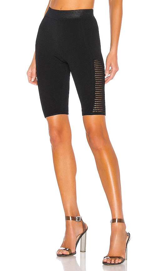 X REVOLVE Mesh Stitch Bike Short