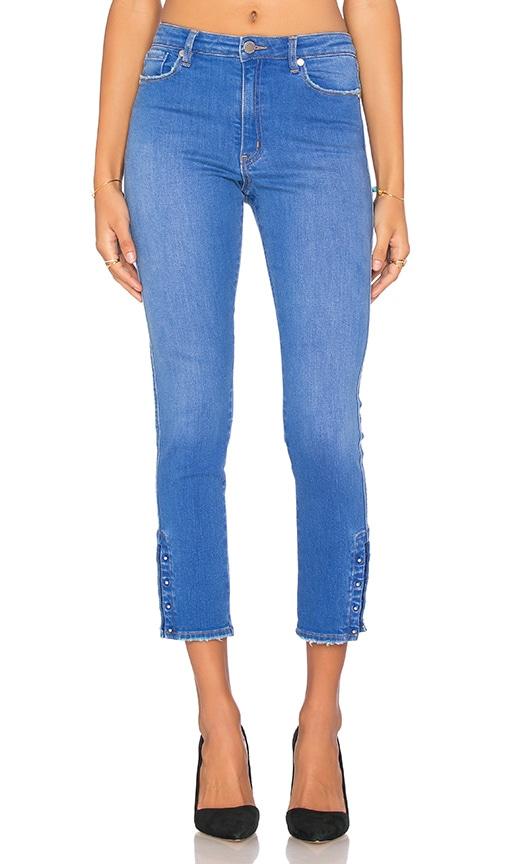Pierced Skinny Jean