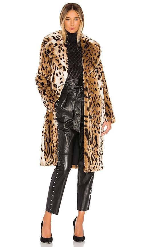Uitgelezene KENDALL + KYLIE Faux Fur Long Leopard Coat in Leopard   REVOLVE KE-01
