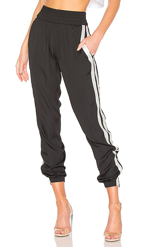KENDALL + KYLIE Jogger Pant in Black & White