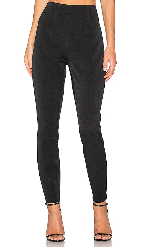 KENDALL + KYLIE High Waist Tuxedo Pant in Black