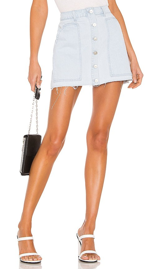 Fashion Denim Mini Skirt