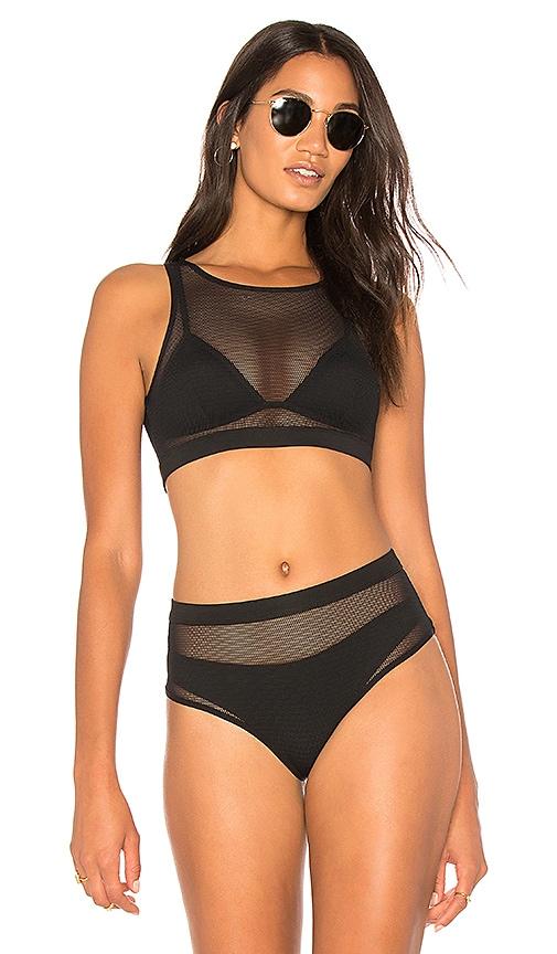 X REVOLVE Mesh Bikini Top