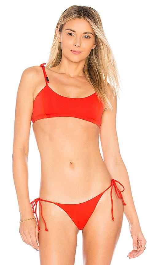 Tie Shoulder Bikini Top