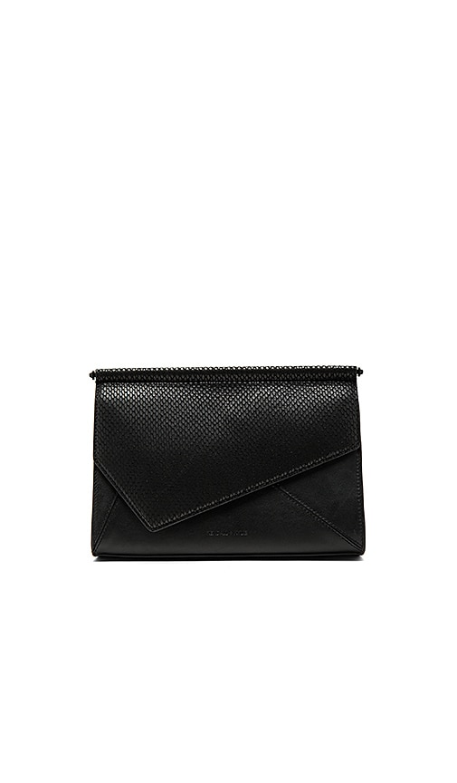 KENDALL + KYLIE Ginza Clutch in Black