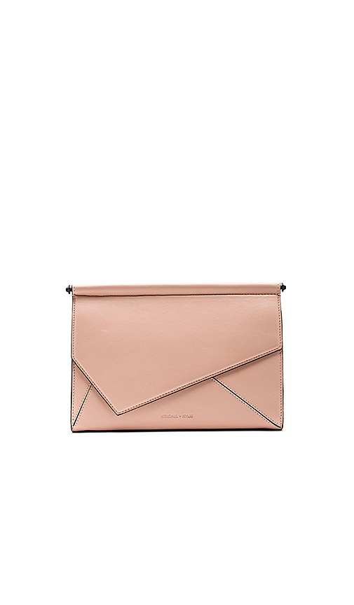 KENDALL + KYLIE Ginza Clutch in Blush