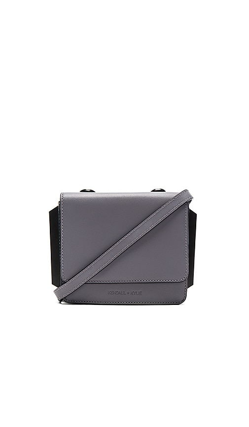 KENDALL + KYLIE Baxter Crossbody in Gray