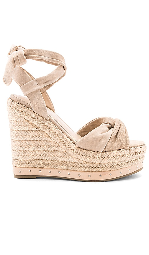 KENDALL + KYLIE Grayce Wedge in Tan