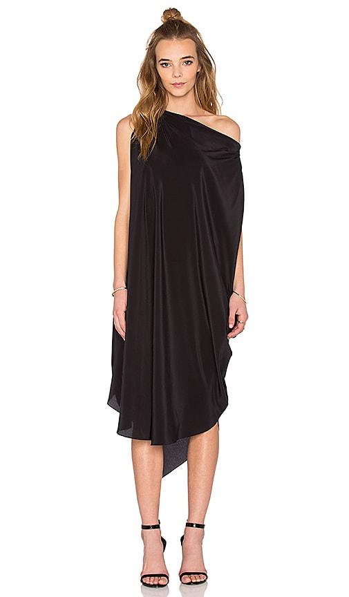 KES Circular Dress in Black