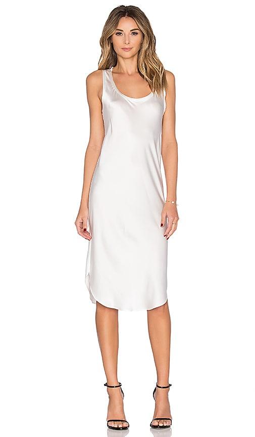 KES Silk Tank Dress in Natural