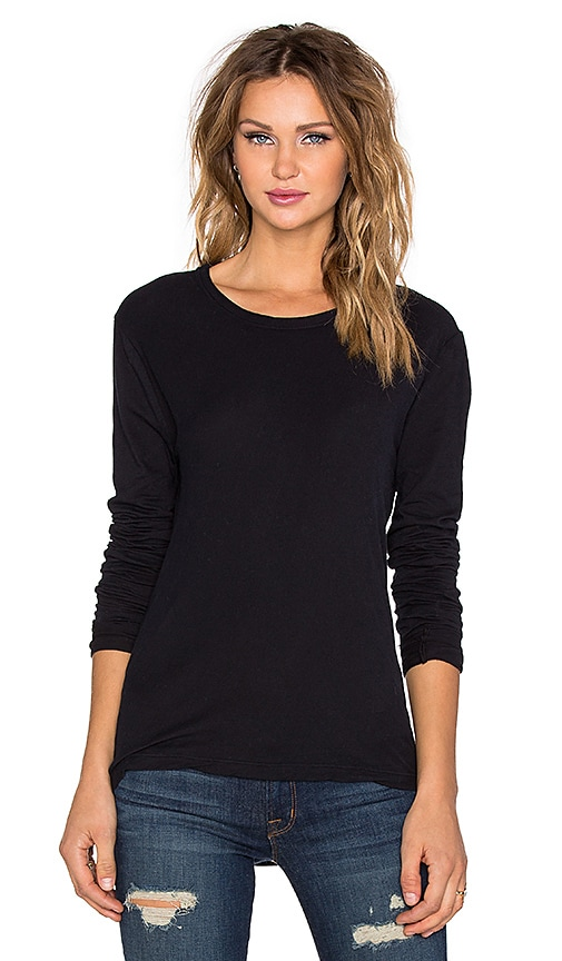 KES Long Sleeve Tee in in Black