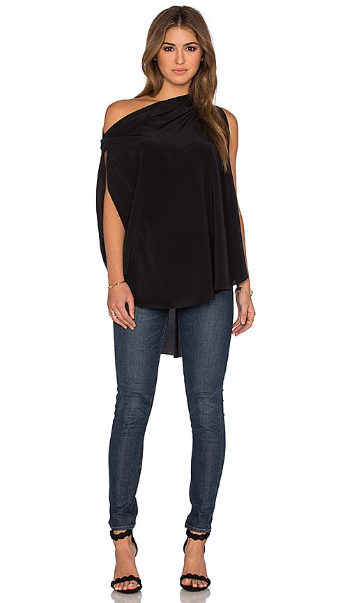 KES Circular Top in Black