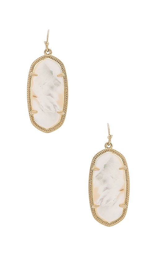 Kendra Scott Elle Earring in Metallic Gold