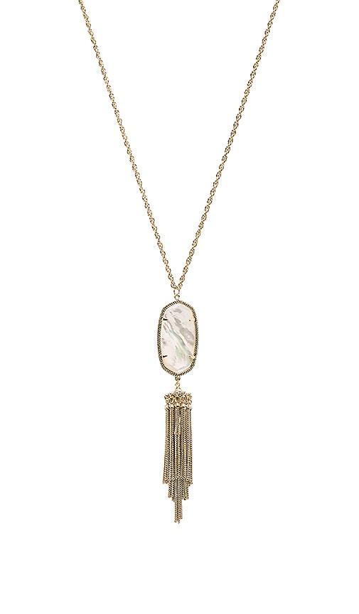 Kendra Scott Rayne Necklace in Metallic Gold