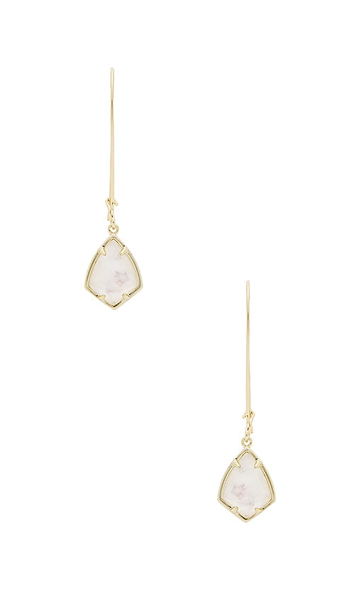 Kendra Scott Carinne Earring in Metallic Gold