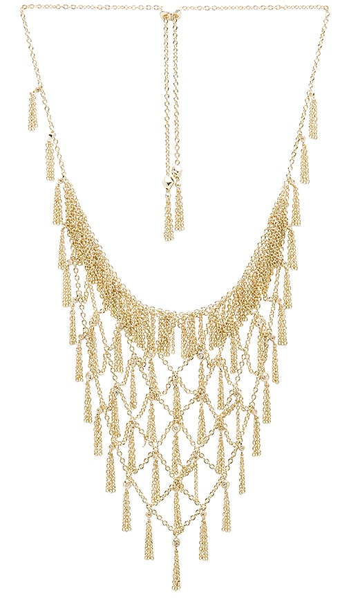 Kendra Scott Georgina Necklace in Metallic Gold