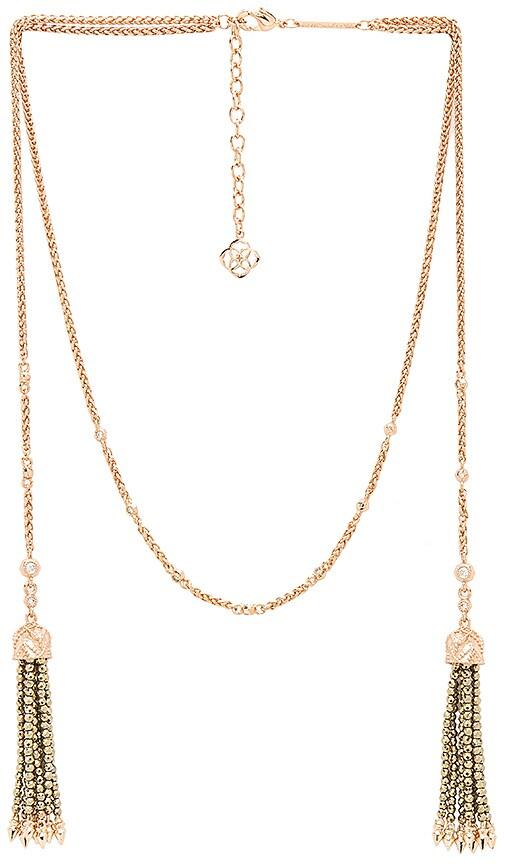 Kendra Scott Monique Necklace in Metallic Copper