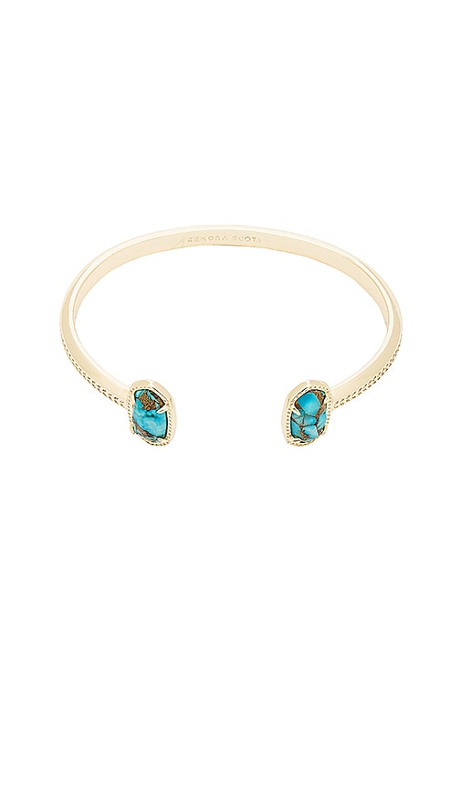 Kendra Scott Elton Bracelet in Metallic Gold