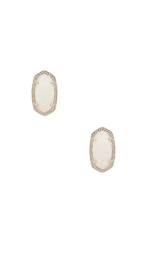 Kendra Scott Ellie Earring in Metallic Silver