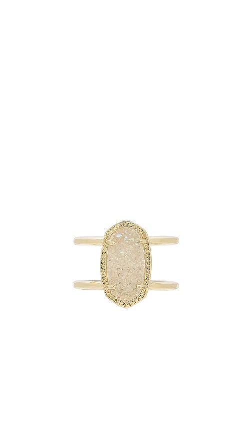 Kendra Scott Elyse Ring in Metallic Gold
