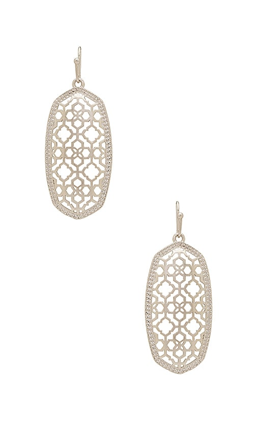 Kendra Scott Earring in Metallic Silver