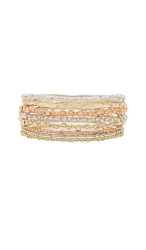 Kendra Scott Sooter Bracelet Set in Metallic Gold