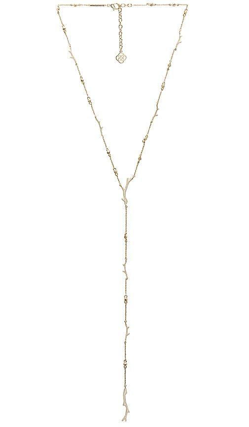 Kendra Scott Yvonne Necklace in Metallic Gold