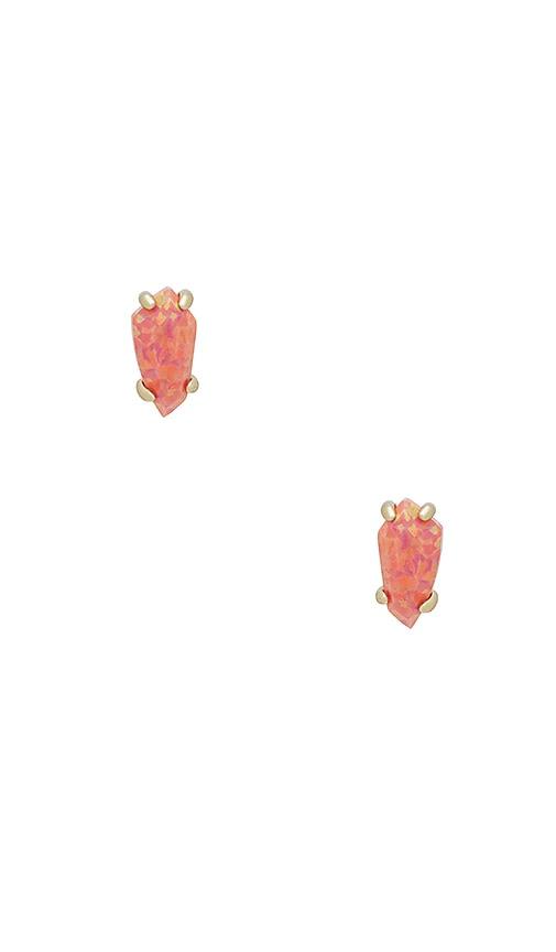 Kendra Scott Jillian Earrings in Metallic Gold