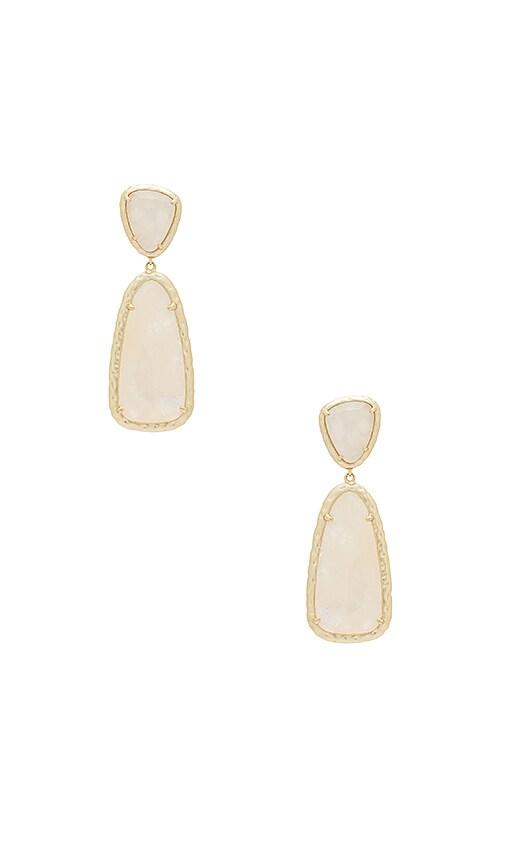Kendra Scott Daria Statement Earrings in Metallic Gold