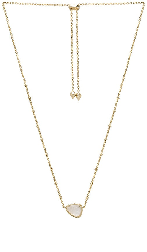 Kendra Scott Arleen Pendant Necklace in Metallic Gold